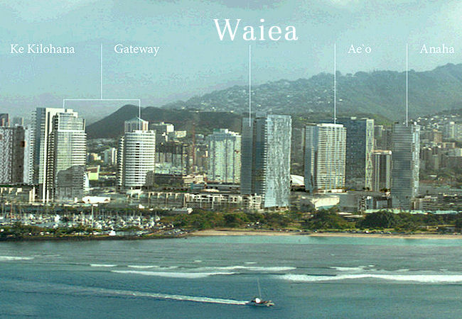 waiea location